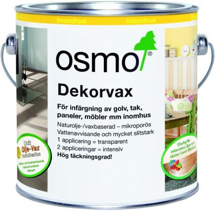 Osmo Dekorvax Transparenta kulörer